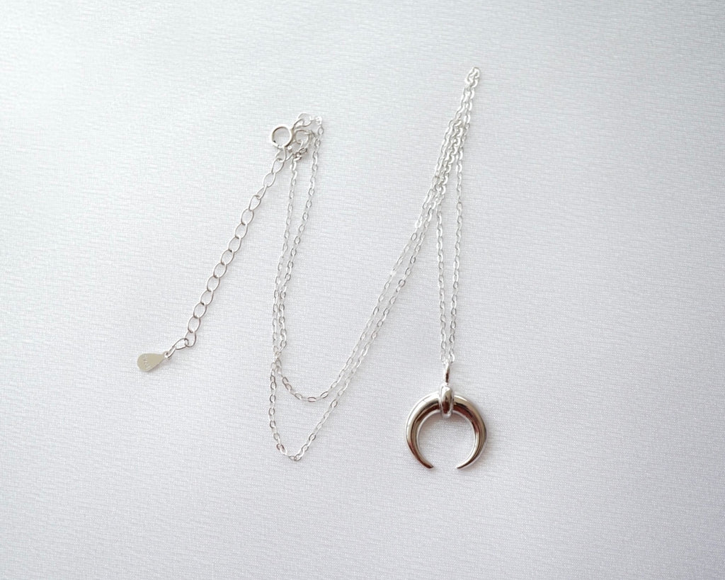 Crescent Moon Dainty Necklace