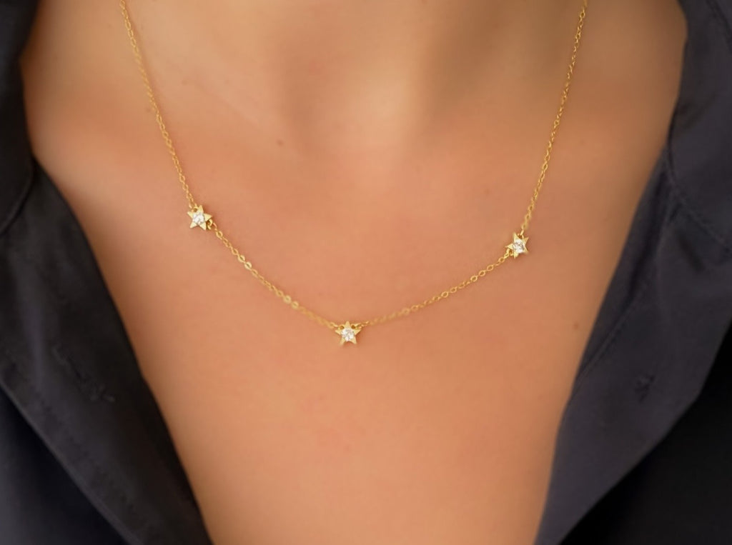 3 Stars Necklace