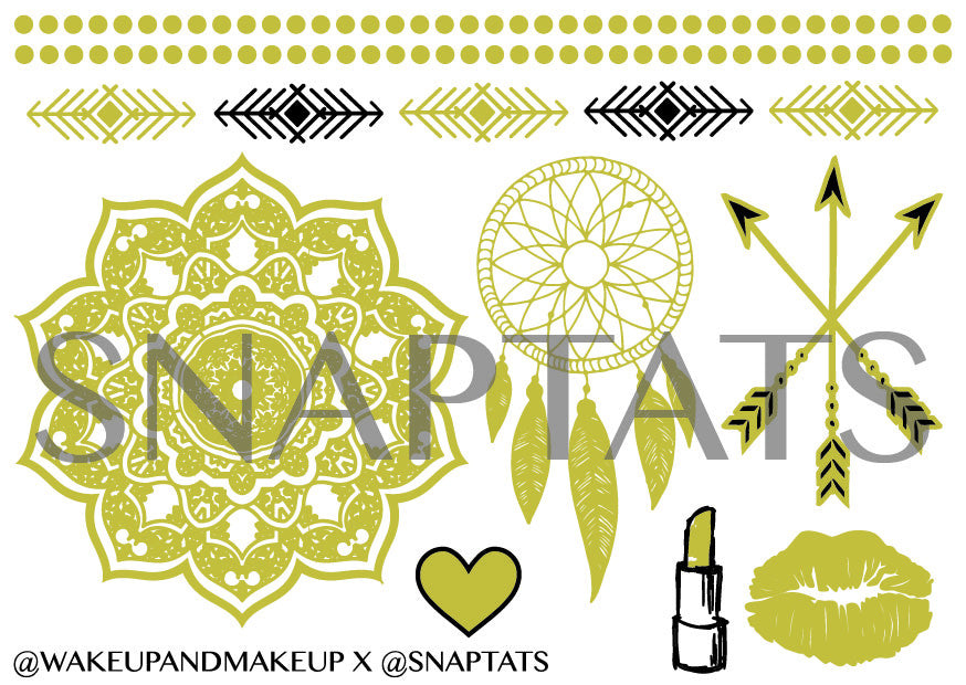 SnapTats Collection (18 Sheets)