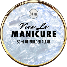 Load image into Gallery viewer, Viva La Manicure - 50 g Clear Builder Gel