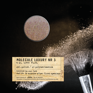 Molecule LUXURY Nr 3 Gel Polish 10 ml.