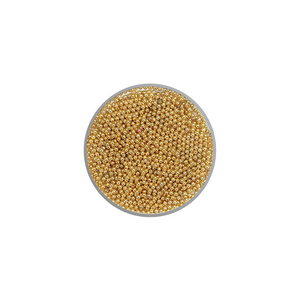 Metallic Beads 1 mm diameter