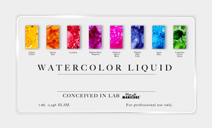 Watercolor Liquid Carmine - 7ml.