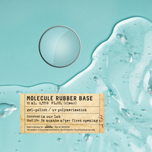 Load image into Gallery viewer, Molecule RUBBER BASE (clear) - 10 ml