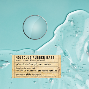 Molecule RUBBER BASE (clear) - 10 ml