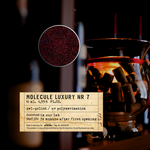 Molecule LUXURY Nr 7 Gel Polish 10 ml.