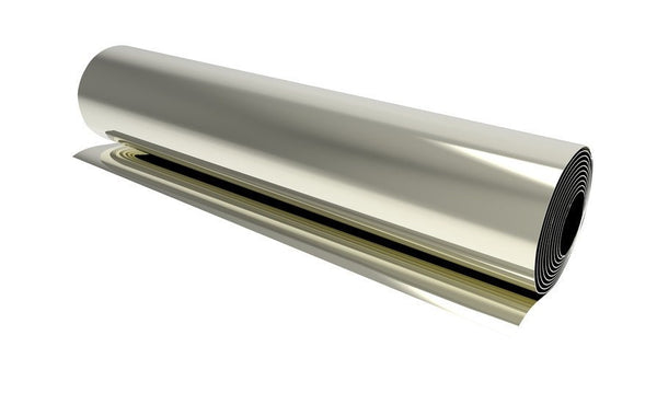 150mm Brass - 0.1mm Brass Shim Stock 150mm X