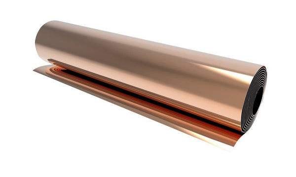 150mm Copper - 0.5mm Copper Shim Stock 150mm X