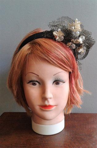 Handmade Embellished Headband/Fascinator