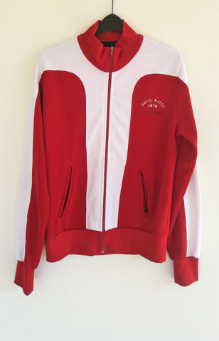 Retro David Mayer Zip Up Sweater