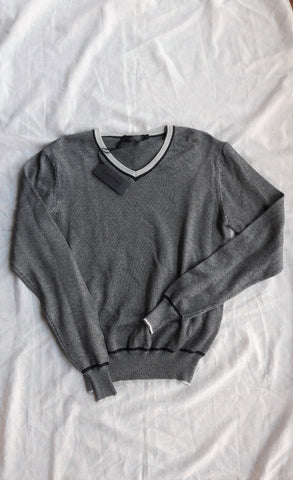 Calvin Klein Collection V-Neck Cotton Sweater