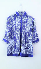 Vintage Nara Camicie Abstract Print Shirt