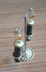 thecollective Handmade Upcycled Deco Earrings