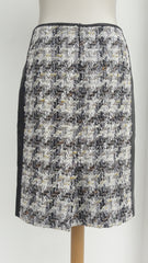 Mixed Fabric Reed Krakoff Pencil Skirt