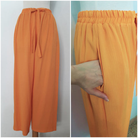 Vintge Orange Loose Fit Trousers