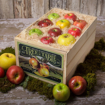 Seasonal Apples Gift Crate - OCT, NOV, DEC
