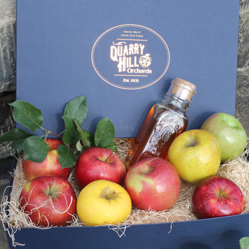 Fresh Apples and Honey Gift Box - OCT, NOV, DEC