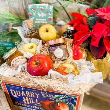 Fresh Apples & Snacks Gift Crate - NOV, DEC