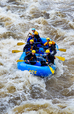 Spring Rafting in the New River Gorge
