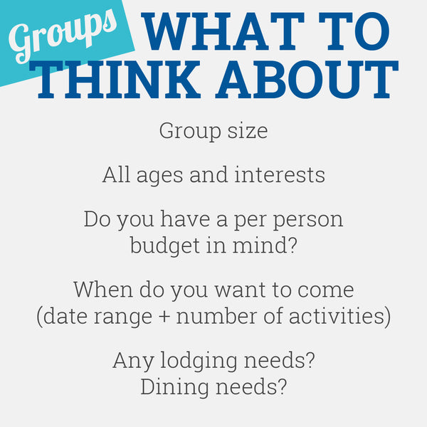 ACE Group Planing - What to Think About
