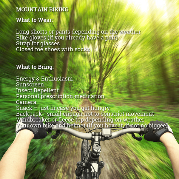 What to Wear Mountain Biking