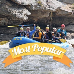 Most Popular Whitewater Rafting Trips
