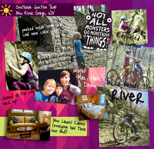 Mother's Day Weekend Road Trip - Mountain Biking, Rock Climbing and Hiking in the New River Gorge, WV