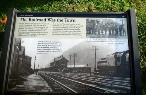 Historic Coal Mines in the New River Gorge - Town of Thurmond