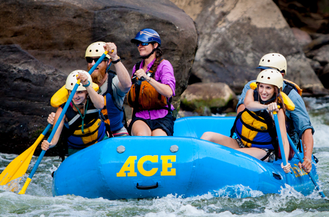 Overcoming Fears Whitewater Rafting