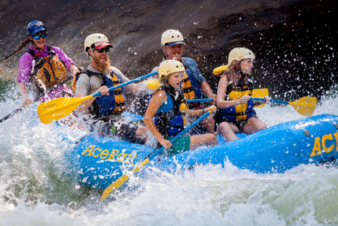 Whitewater Rafting the Lower New River