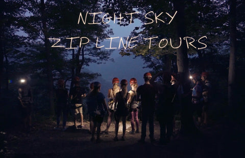 Ace Raft Night Sky Zip Line Tours