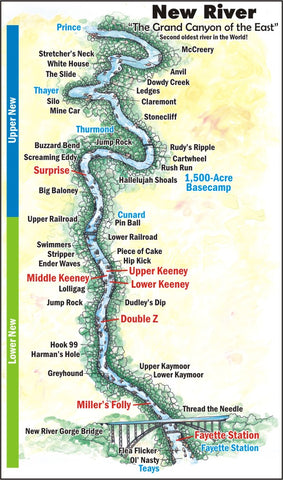 New River Gorge Map