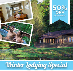 Winter Special - 50% Off Lodging