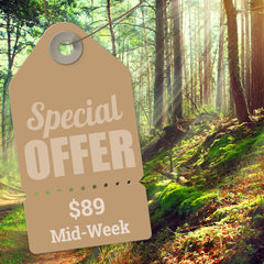 $89 Midweek Adventure Special - Spring