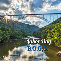 Labor Day BOGO - September 7th