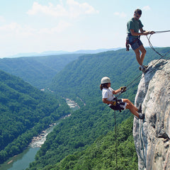 Rappel the New River Gorge