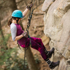 Rappelling in the New River Gorge at ACE Adventure Resort