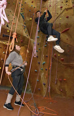 Outside In Climbing Gym to Real Rock- All Day