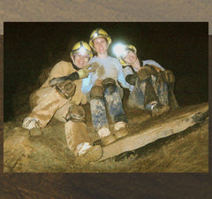 Wild Caving Tour at Lost World Caverns - All Day