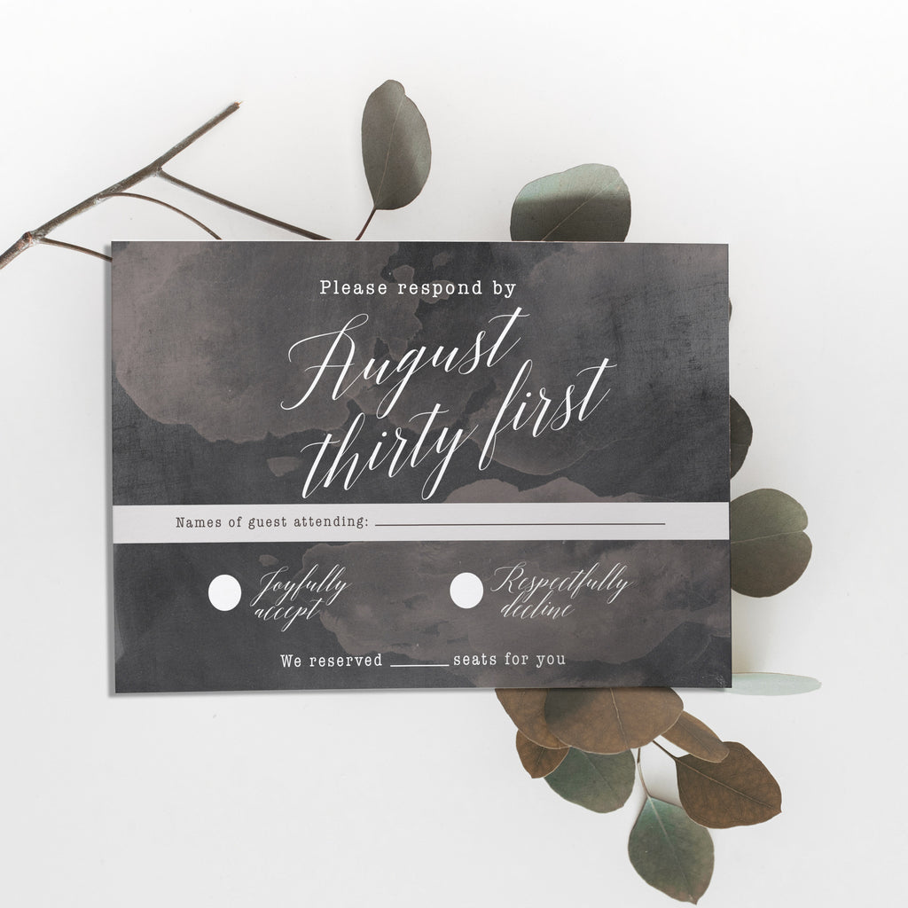 Chalk Invitation