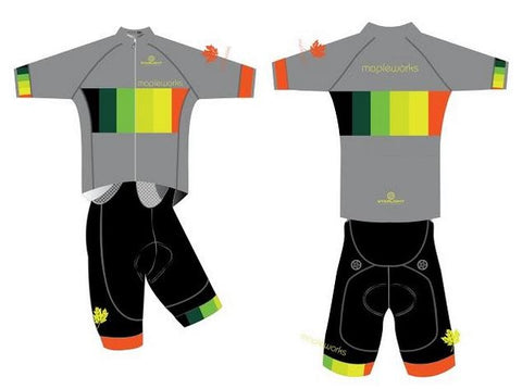 Mapleworks Custom Cycling Jersey