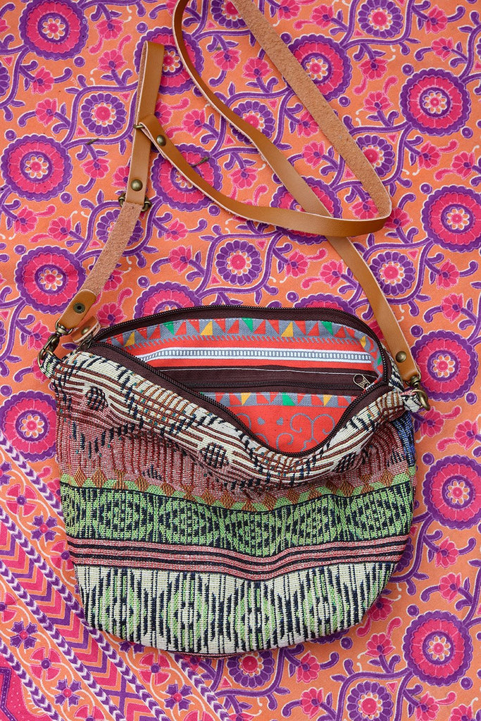 Feel The Sunshine Slouchy Handmade Shoulder Bag