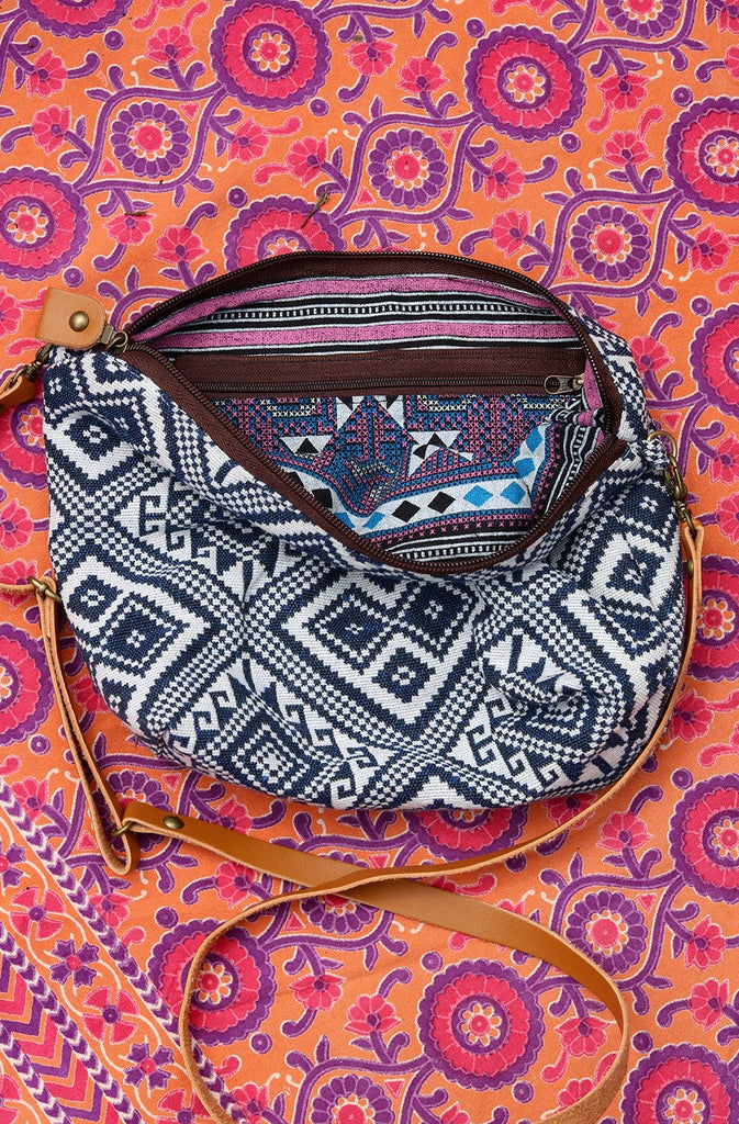 Salty Air Slouchy Handmade Shoulder Bag