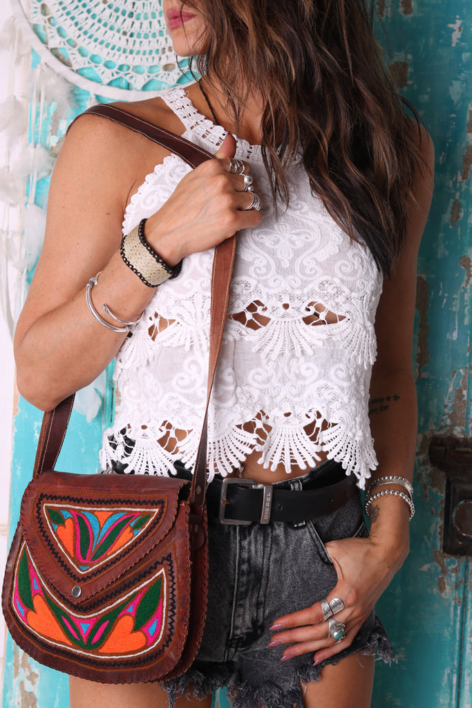 Festival Fever Crochet Top