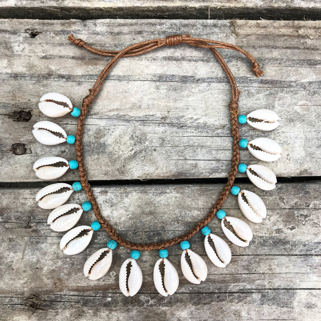 Paradiso Handmade Cowrie Shell Anklet