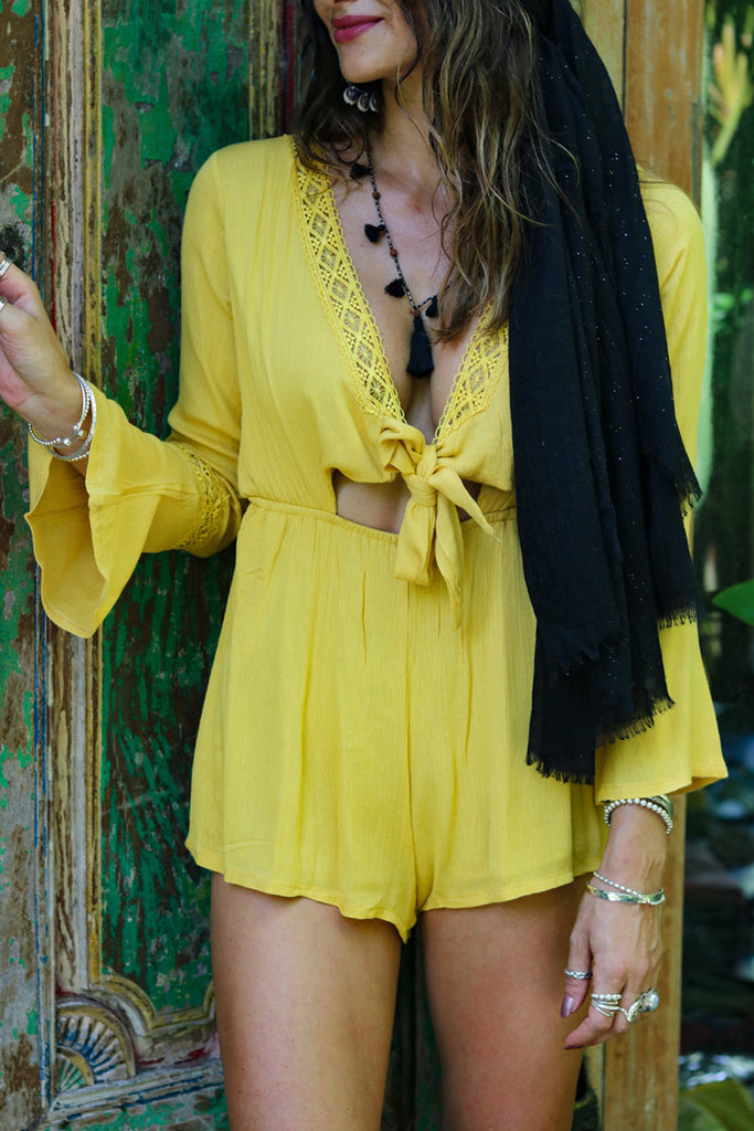 Lost Lovers Foreign Destination Bohemian Playsuit