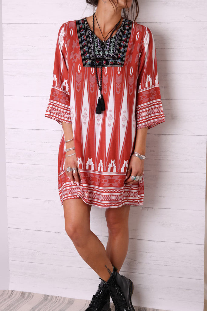 Festivals Upon Us Tunic Dress