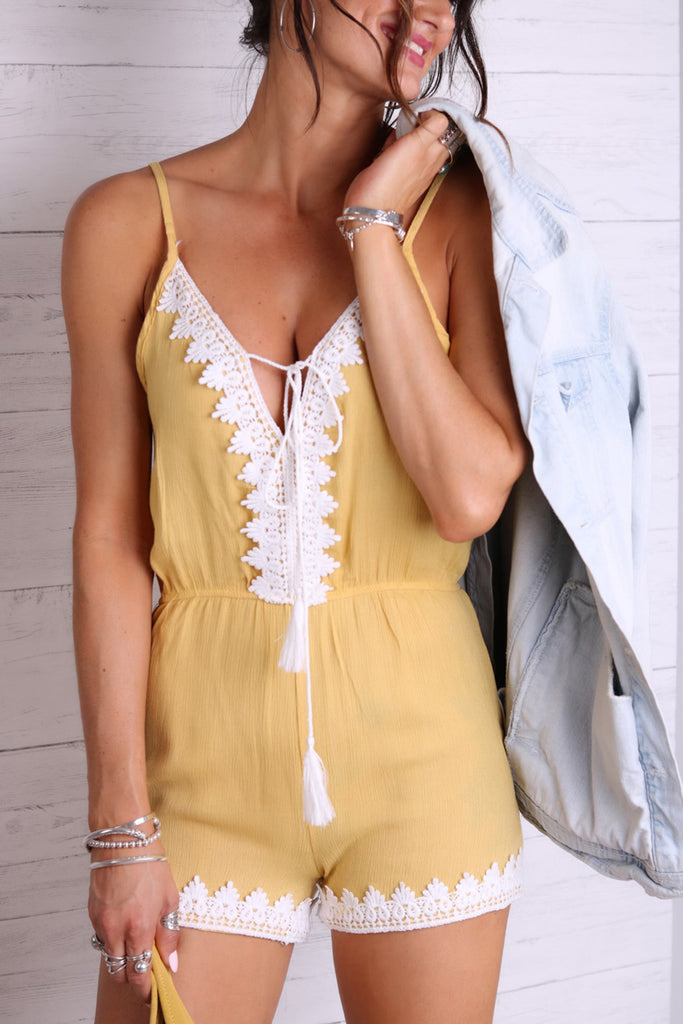 Sunlight And Kisses Playsuit