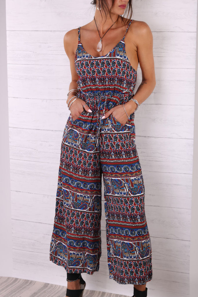 Summers In Foreign Destinations Jumpsuit