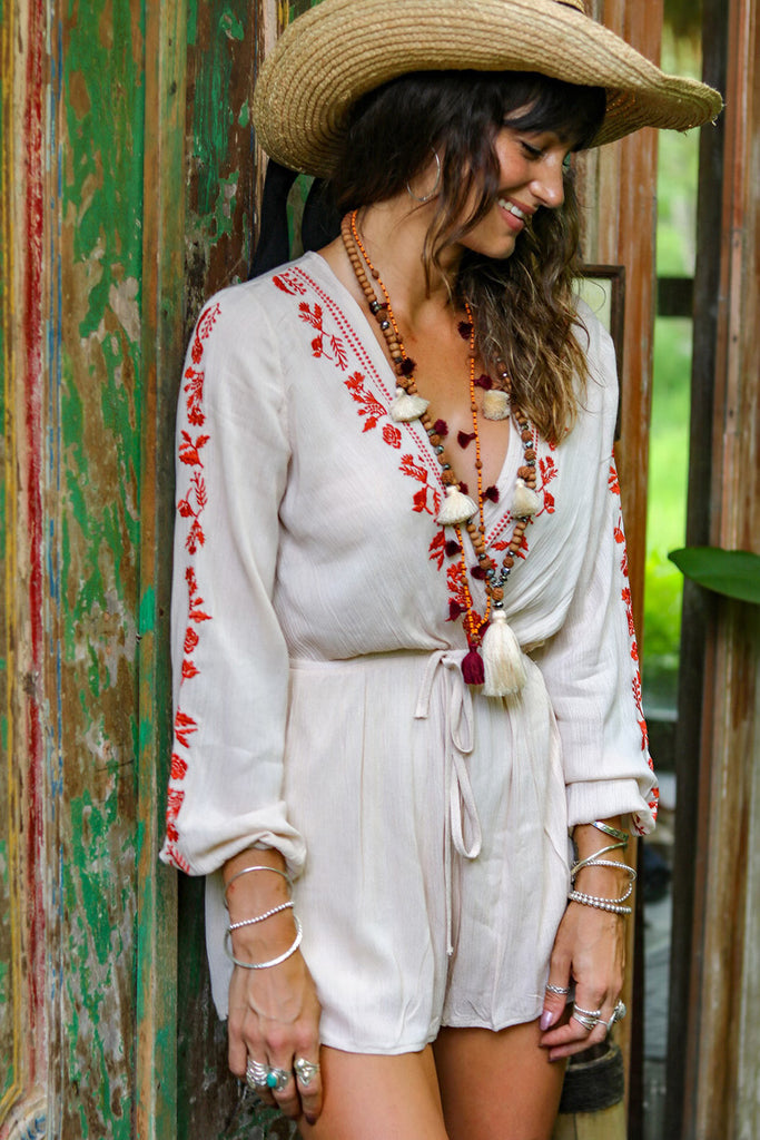 Lost Lovers Bohemian Soul Mates Playsuit